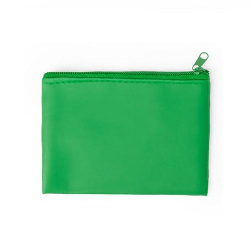Monedero Dramix cremallera verde