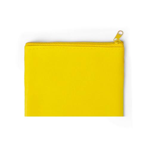 Monedero Dramix cremallera amarillo