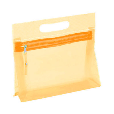 Neceser Fergi translúcido naranja