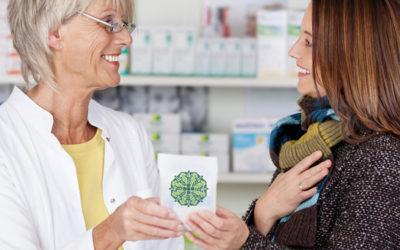 Campaña navideña de marketing farmacéutico
