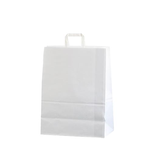 Bolsa papel asa plana 32