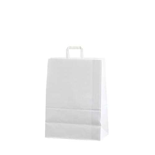 Bolsa papel asa plana 26
