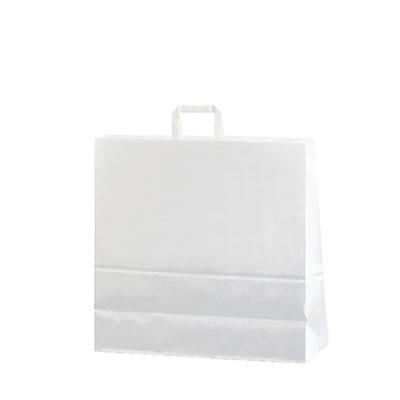 Bolsa papel asa plana 40