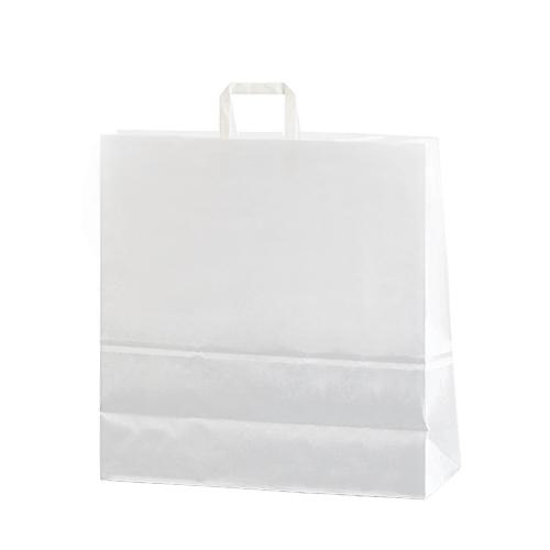 Bolsa papel asa plana 45