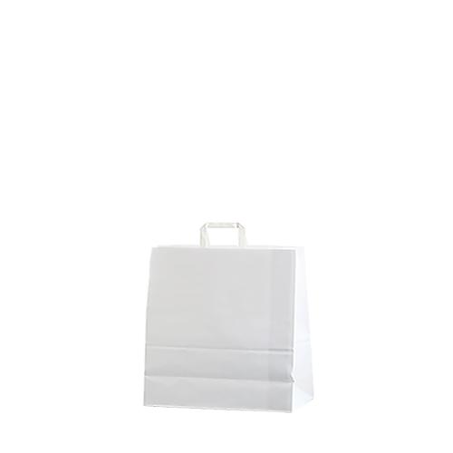 Bolsa papel asa plana 18