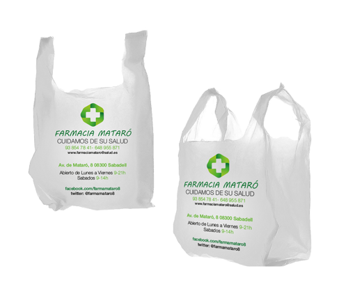 Bolsas oxodegradables y biocompostables