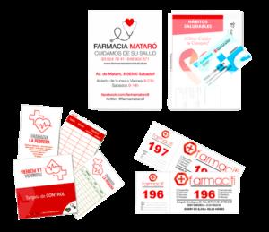 Impresos personalizables para farmacia
