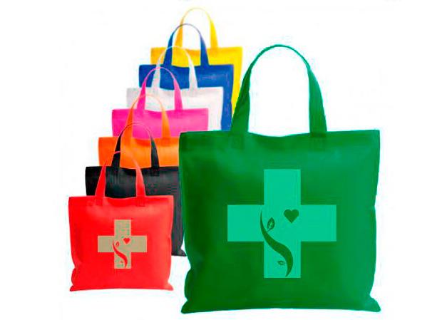 Bolsas tela para farmacia