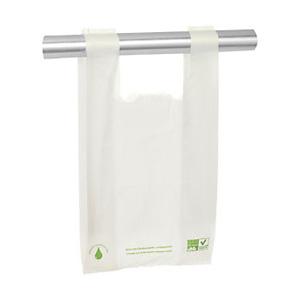 bolsas biocompostables blancas anonimas