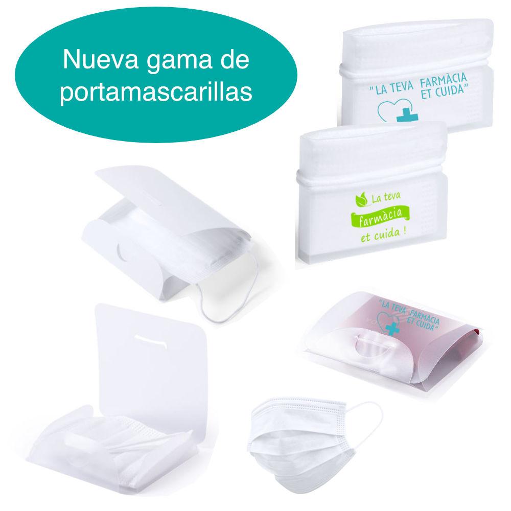 portamascarillas farmacia