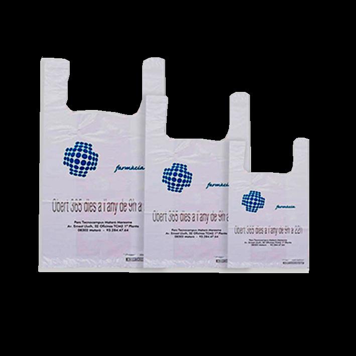 Bolsas reciclables compostables personalizadas